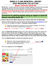 Zinio Instructions for Apple, Android, Nook