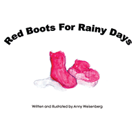 Red Boots for Rainy Days