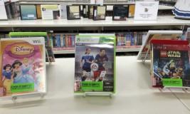 Video Games in Children's Department