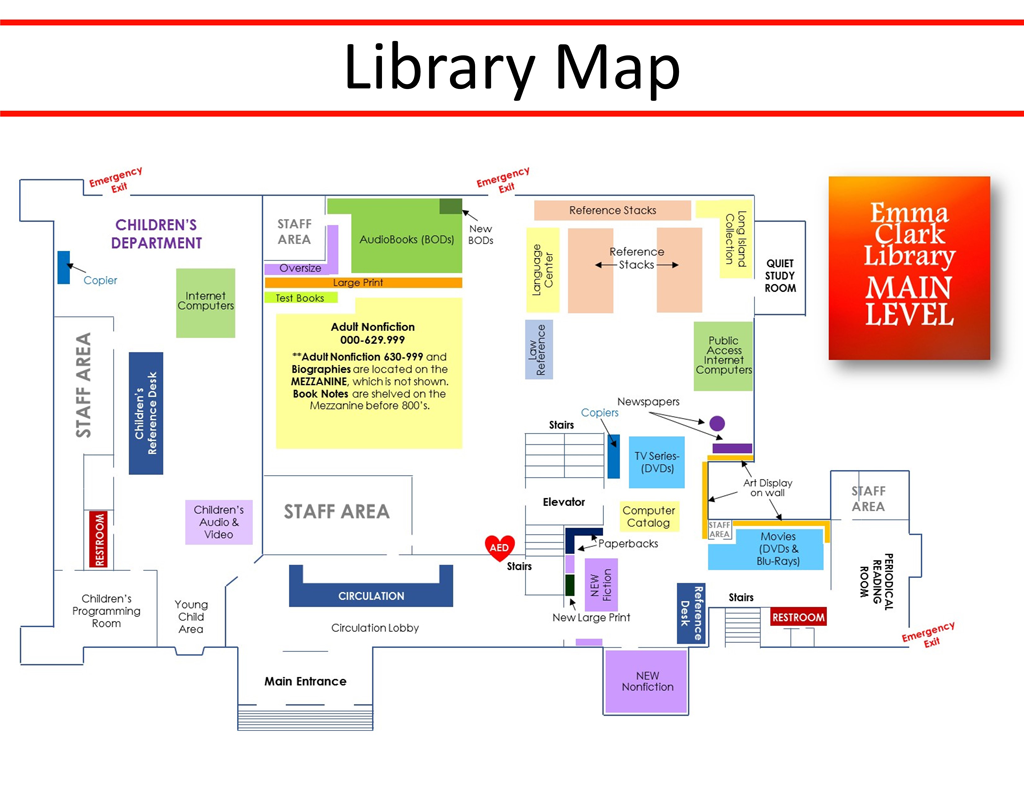 library map main level