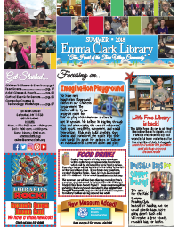 Cover image of the Summer newsletter